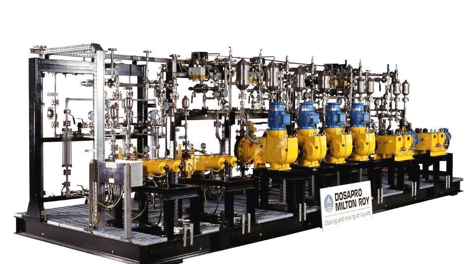 Milton Roy Europe: технология и производственная программа