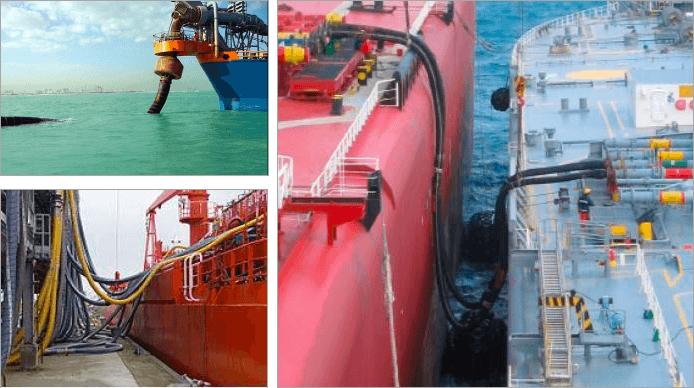 переработка - судовые и морские шланги